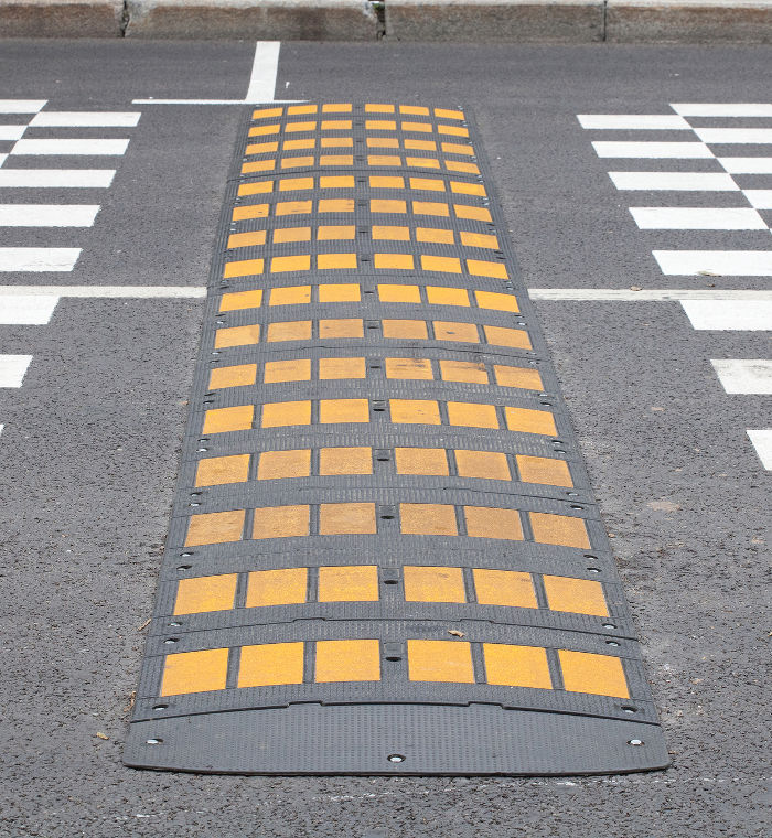 The image of a speed bump